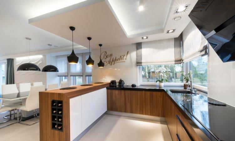 virtuves apgaismojums