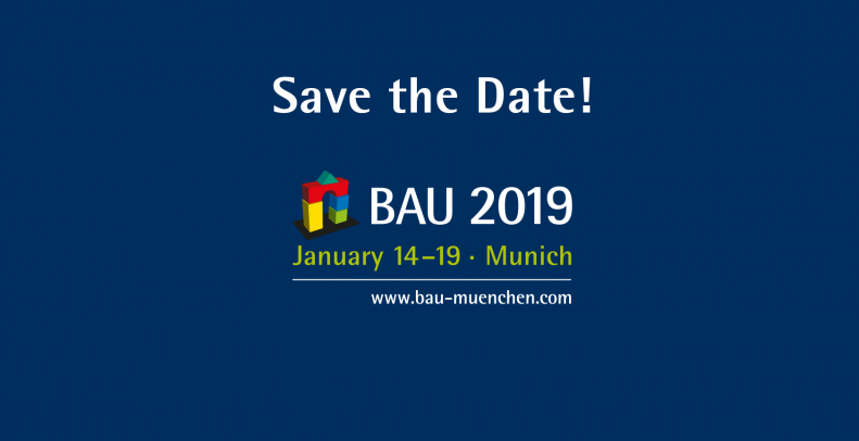 Construction Exibition - BAU 2019 - Munich, Gernamy