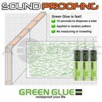 Skaņas izolācija Green Glue