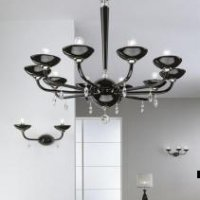 Telpu apgaismojuma dizaina kon
