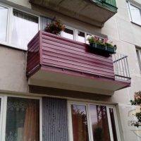 Balkona remonta darbi.