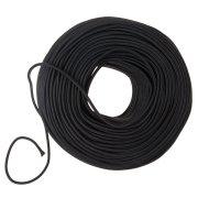 Dekoratīvs vads 2x0,75 melns