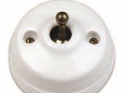 FONTINI DIMBLER slēdzis / keramikas / balts