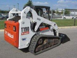 Bobcat T190,un Bobcat 864 Noma