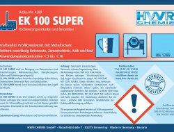 EK 100 SUPER - Augstas efektiv