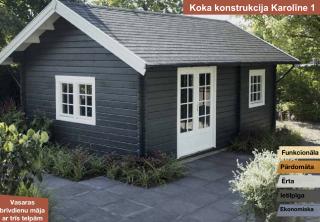 Деревянный бревенчатый дом  ба