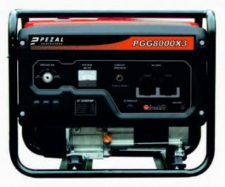 Pezal PGG 8000 X3 генератор