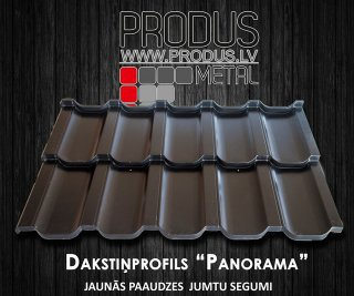 Dakstiņprofils PANORAMA