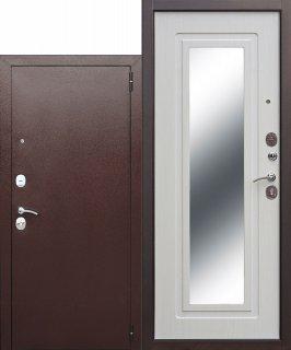 Metāla durvis Clasik Mirror, a