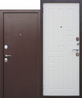 Metāla durvis GARDA 6, antīks