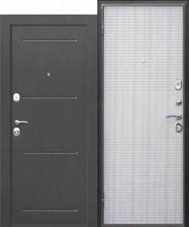 Metāla durvis GARDA, muar meln