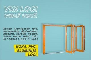 Būvē māju? Meklē logus, ārdurv