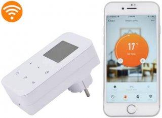 Smart wi-fi kontaktdakšu termo