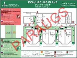 Evakuācijas plāna izstrāde