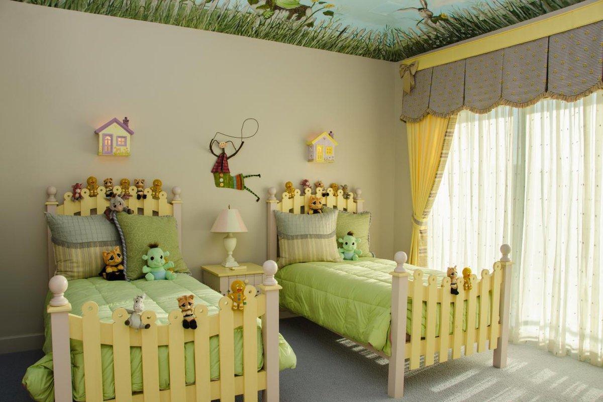 صور غرف نوم اطفال مودرن للبنات
