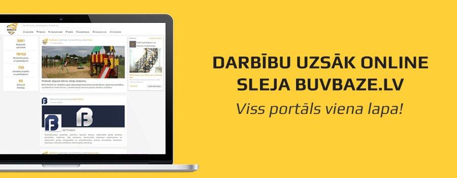 Darbību uzsāk online sleja BUVBAZE.LV